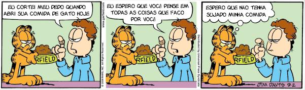 Tirinhas do Garfield, 2009 09 Setembro 02