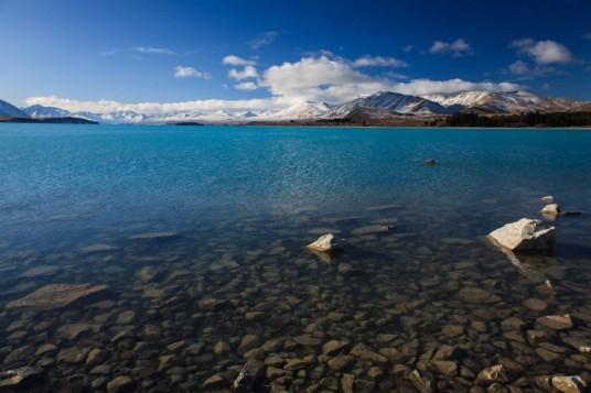 Lago Tekapo, Nova Zelândia.