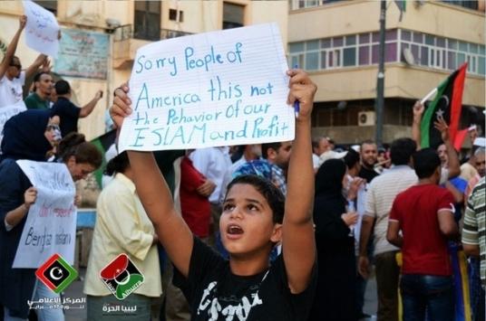 pessoas tristes da América não este o comportamento do nosso islam e lucro