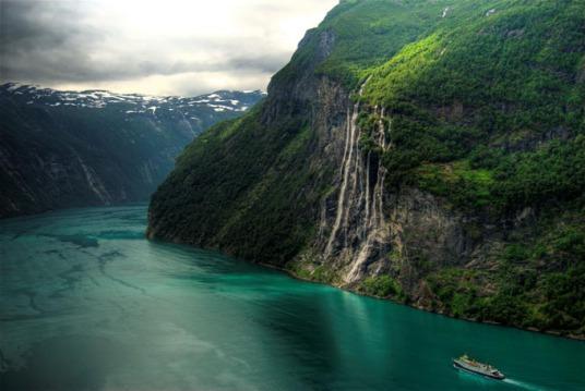 Cachoeiras das Seis Irmãs, Noruega