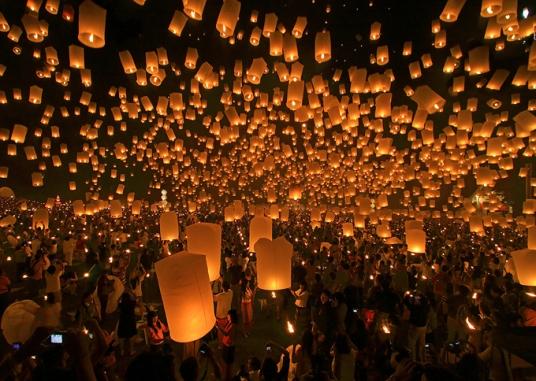 Festival das Lanternas, Taiwan
