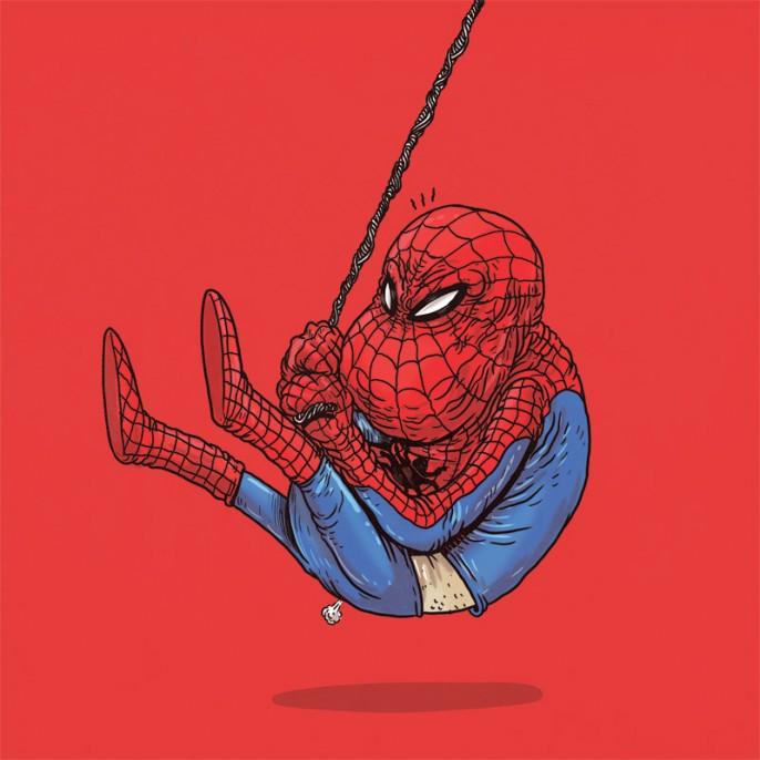 Alex-Solis-Famous-Oldies-Spiderman-686x686