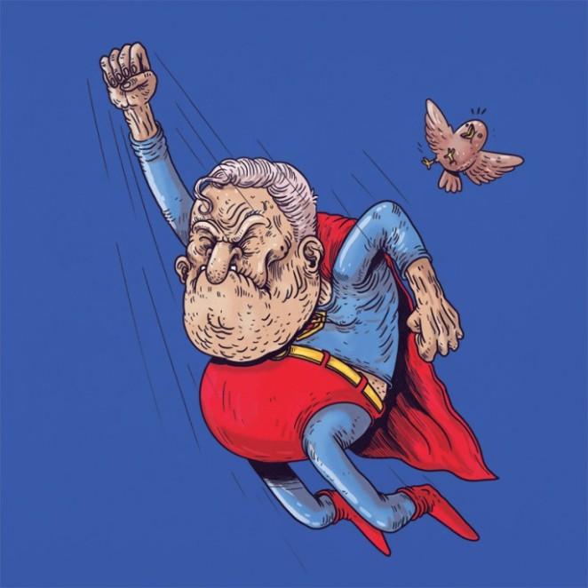 Alex-Solis-Famous-Oldies-Superman-686x686
