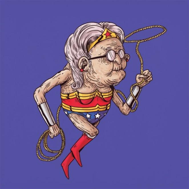 Alex-Solis-Famous-Oldies-Wonder-Woman-686x686