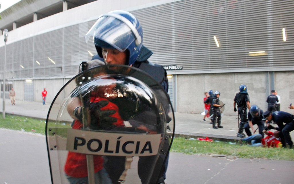 APTOPIX Portugal Police Beating