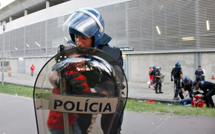 APTOPIX Portugal Police Beating