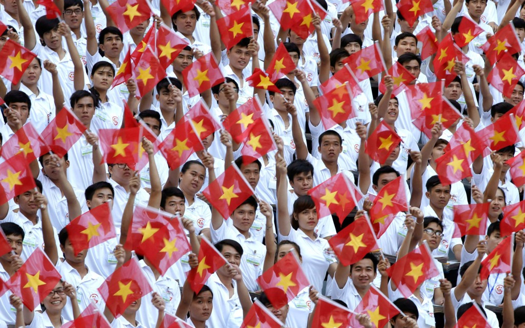 APTOPIX Vietnam War Anniversary