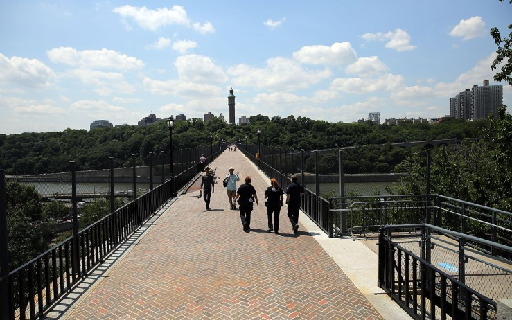 Historic Pedestrian Bridge Connecting Manhattan To The Bronx Reopens