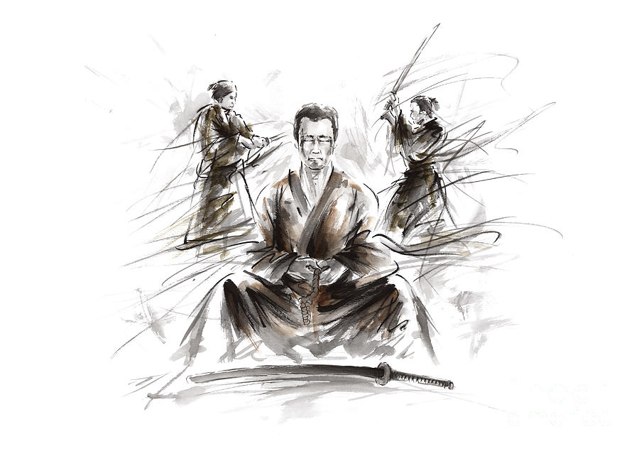 samurai-meditation-mariusz-szmerdt