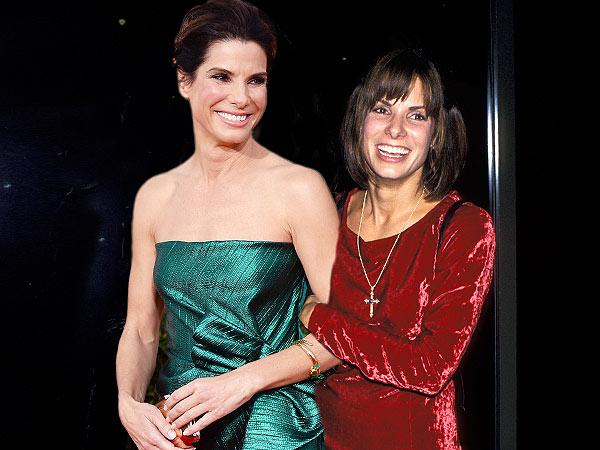 Sandra Bullock: 2014 vs. 1993 (21 anos)