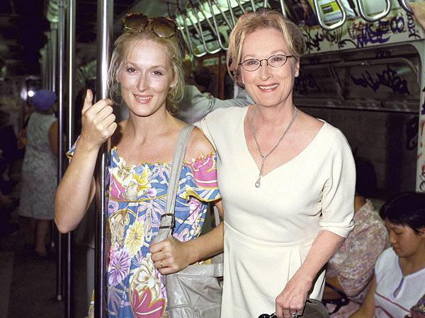 Meryl Streep: 1980 vs. 2013 (33 anos)